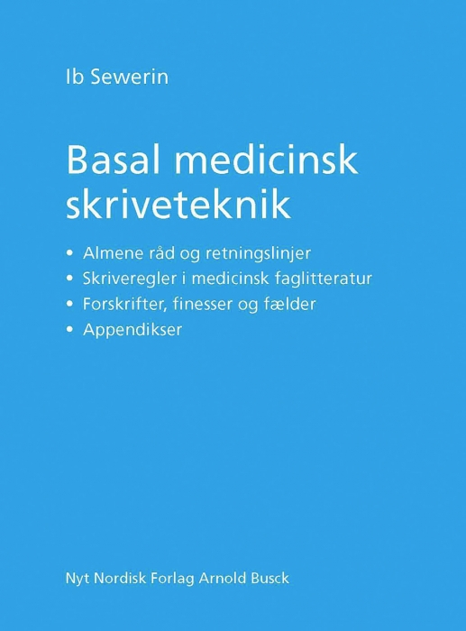 Image of   Basal medicinsk skriveteknik (E-bog)