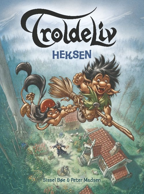 Troldeliv 8 - heksen (lydbog) fra sissel bøe fra bogreolen.dk