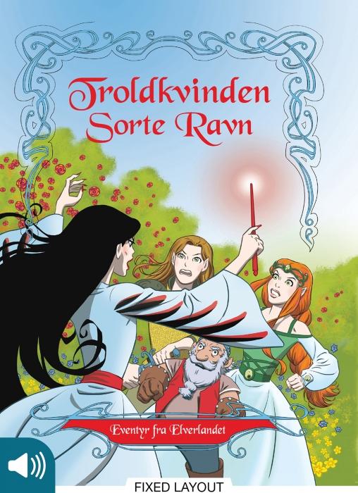 peter gotthardt – Eventyr fra elverlandet 2: troldkvinden sorte ravn (e-bog) fra bogreolen.dk