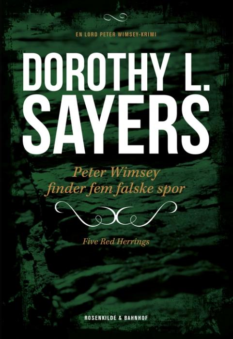 Billede af Dorothy L. Sayers, Peter Wimsey finder fem falske spor (E-bog)