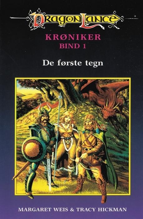 Dragonlance - krøniker #1: de første tegn (e-bog) fra margaret weis på bogreolen.dk