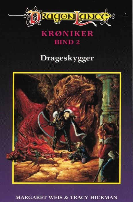 Dragonlance - krøniker #2: drageskygger (e-bog) fra margaret weis på bogreolen.dk