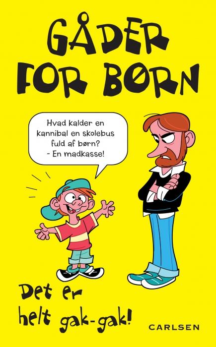 Gåder for børn - det er helt gak-gak! (E-bog)