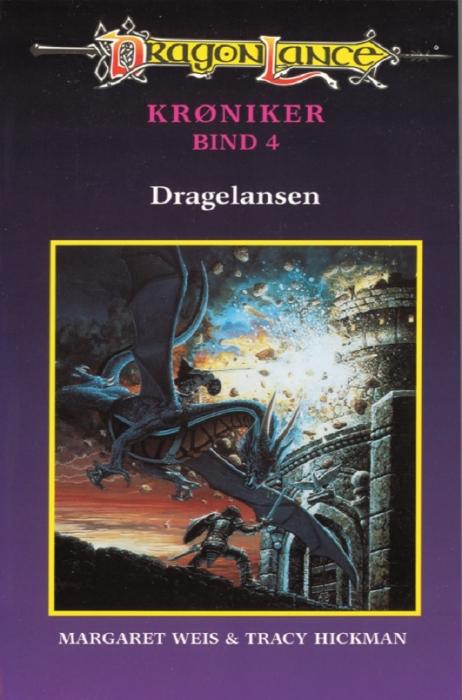 margaret weis – Dragonlance - krøniker #4: dragelansen (e-bog) fra bogreolen.dk