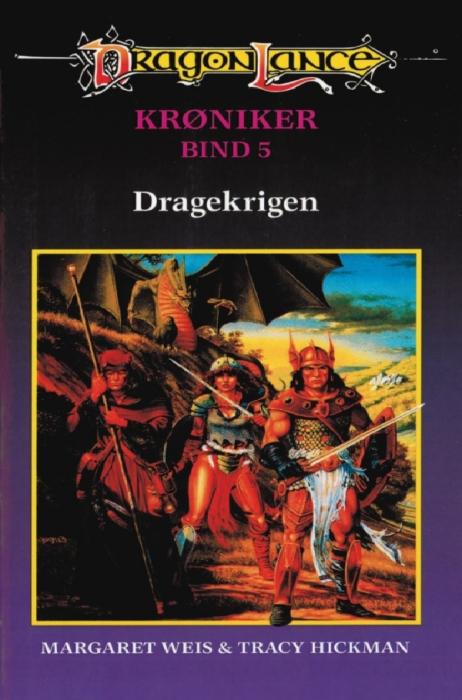 margaret weis – Dragonlance - krøniker #5: dragekrigen (e-bog) på bogreolen.dk