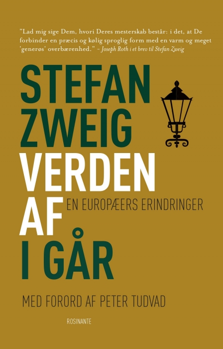 stefan zweig Verden af i går (e-bog) fra bogreolen.dk