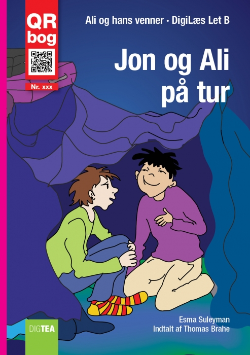 Jon og ali på tur - læs med lyd (e-bog) fra esma suleyman på bogreolen.dk