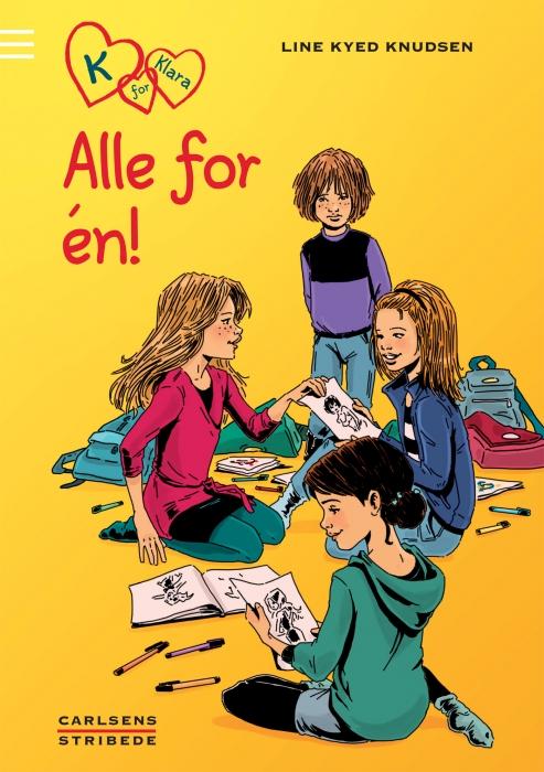line kyed knudsen – K for klara 5: alle for én (e-bog) på bogreolen.dk