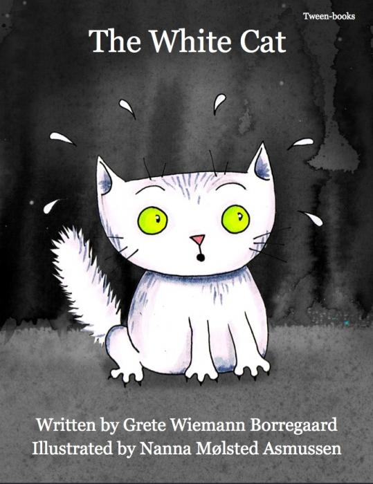 grete wiemann borregaard The white cat (e-bog) på bogreolen.dk