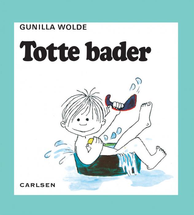 gunilla wolde – Totte bader (2) (e-bog) på bogreolen.dk