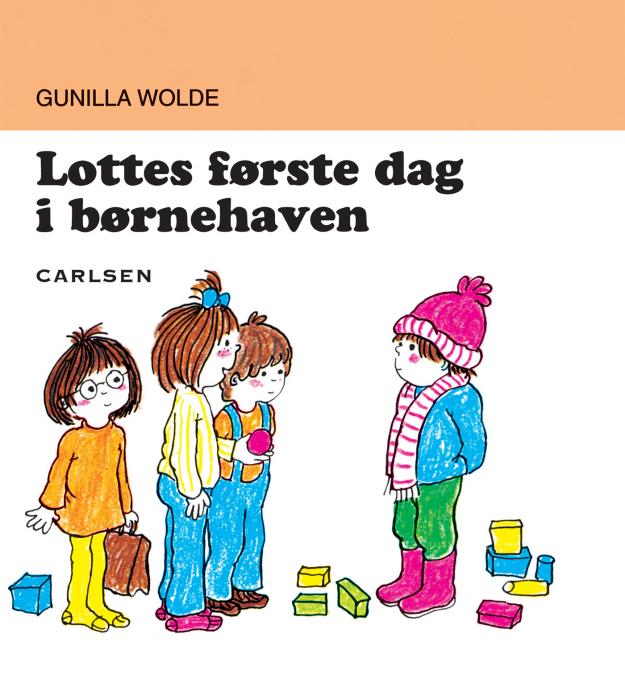 Lottes første dag i børnehaven (9) (e-bog) fra gunilla wolde på bogreolen.dk