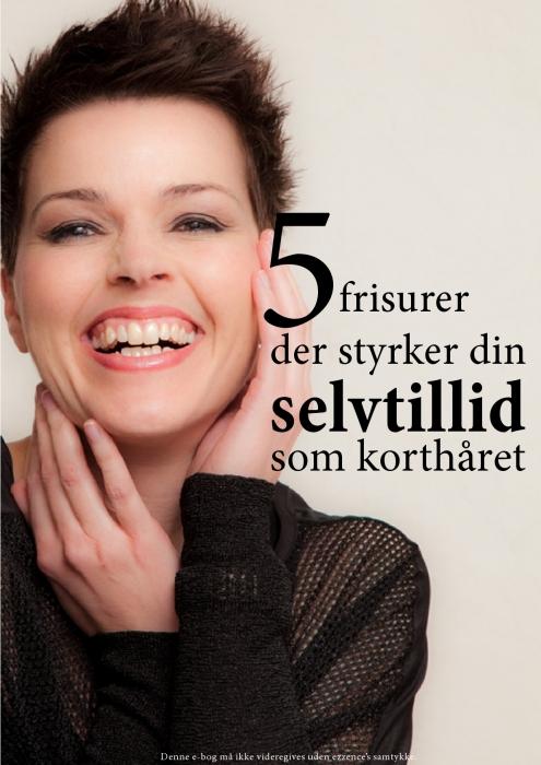 5 frisurer der styrker din selvtillid som korthåret (E-bog)