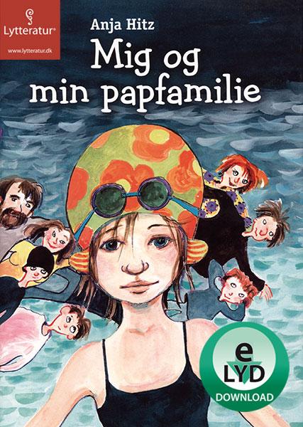 anja hitz Mig og min papfamilie (lydbog) fra bogreolen.dk