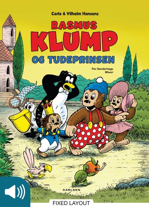 per sanderhage – Rasmus klump og tudeprinsen (e-bog) på bogreolen.dk