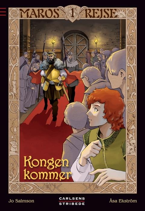 jo salmson – Maros rejse 1: kongen kommer (e-bog) fra bogreolen.dk