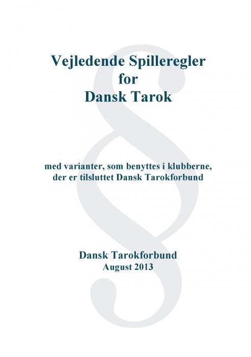 dansk tarok spil (e-bog) fra madsen ole brun