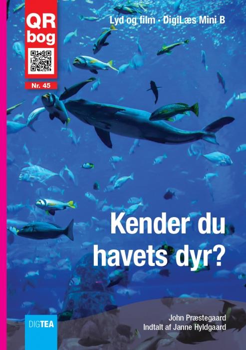 Kender du havets dyr? læs med lyd (e-bog) fra john præstegaard fra bogreolen.dk