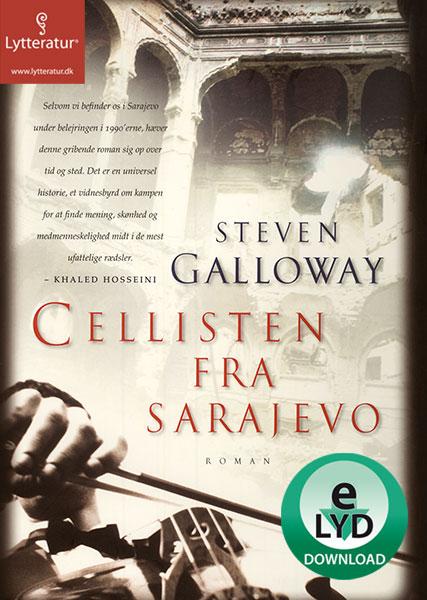 Image of   Cellisten fra Sarajevo (Lydbog)