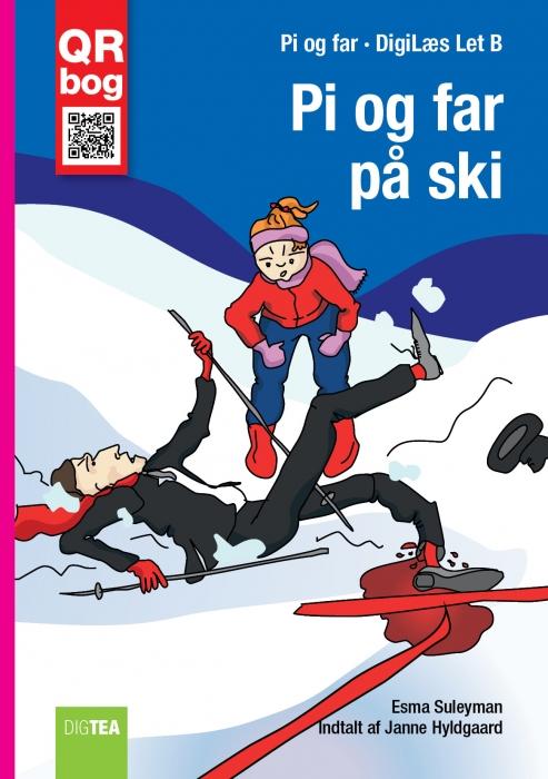 Pi og far på ski - læs med lyd (e-bog) fra esma suleyman på bogreolen.dk