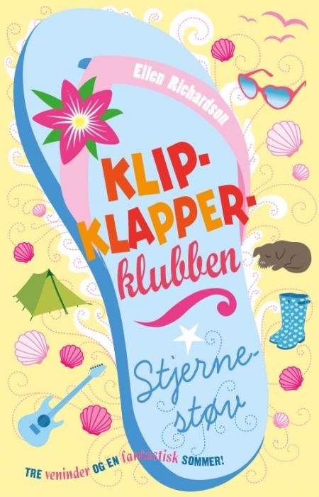Klipklapper-klubben 4: stjernestøv (e-bog) fra ellen richardson på bogreolen.dk