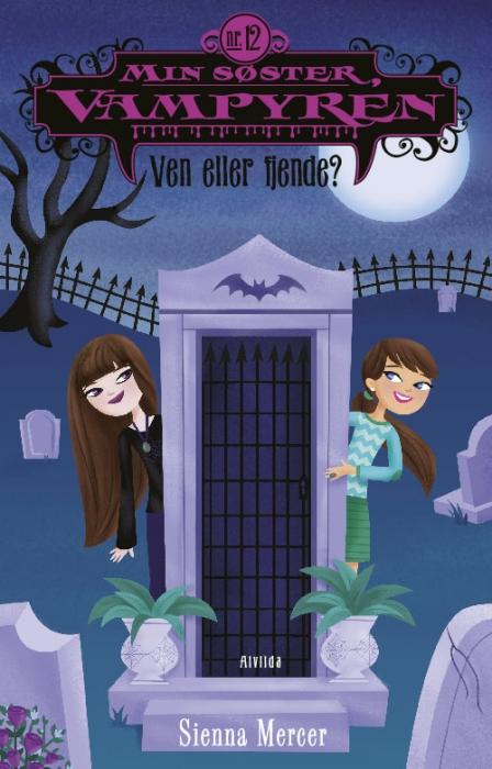 sienna mercer – Min søster, vampyren 12: ven eller fjende? (e-bog) på bogreolen.dk