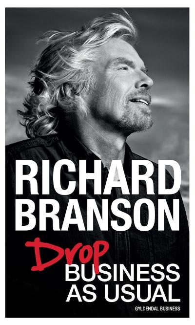 Billede af Richard Branson, Drop Business as Usual (Lydbog)