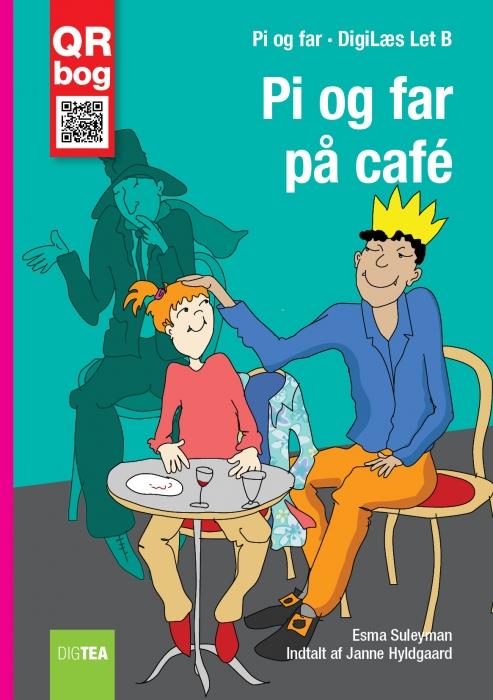 esma suleyman Pi og far på café - læs med lyd (e-bog) på bogreolen.dk