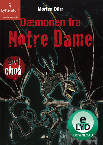 morten dürr – Dæmonen fra notre dame (lydbog) fra bogreolen.dk