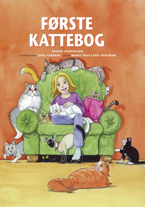 Image of   Første kattebog (E-bog)