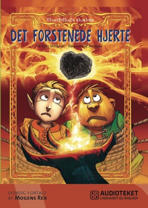 peter gotthardt – Elverfolkets skæbne 2: det forstenede hjerte (lydbog) på bogreolen.dk
