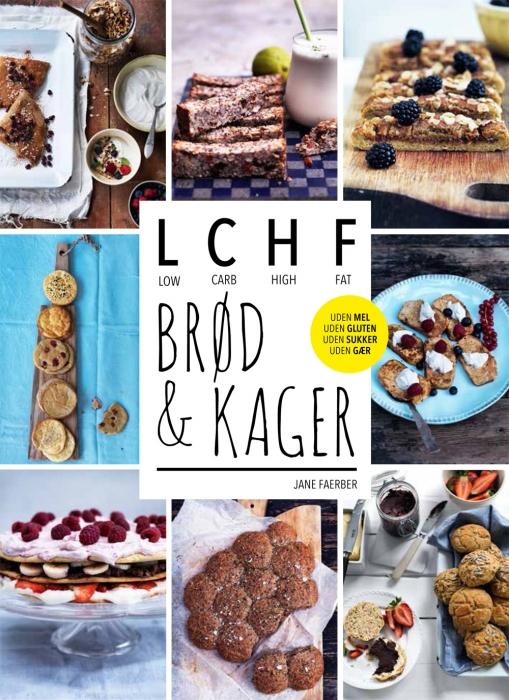 LCHF - brød og kager (E-bog)