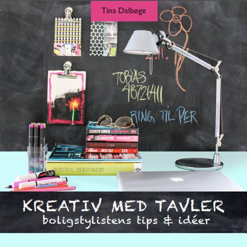 tina dalbøge Kreativ med tavler (e-bog) fra bogreolen.dk