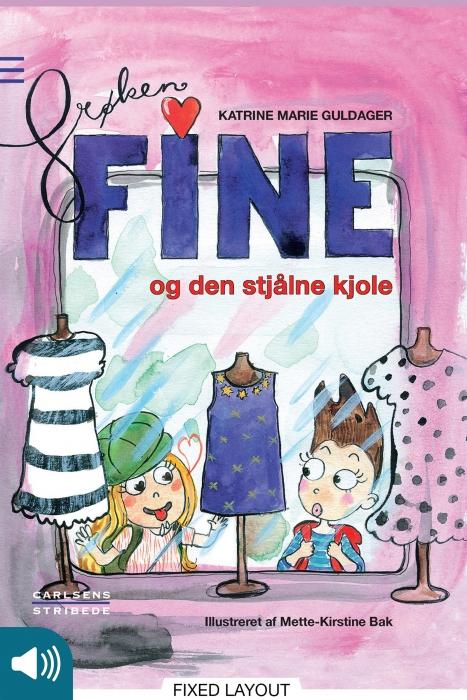 Frøken fine og den stjålne kjole (e-bog) fra katrine marie guldager på bogreolen.dk