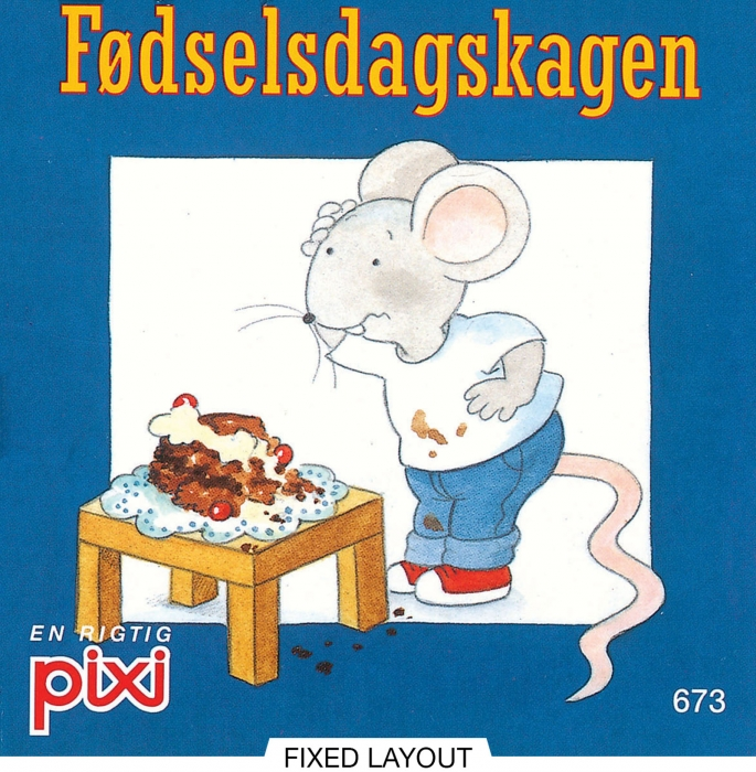 Image of Fødselsdagskagen (E-bog)
