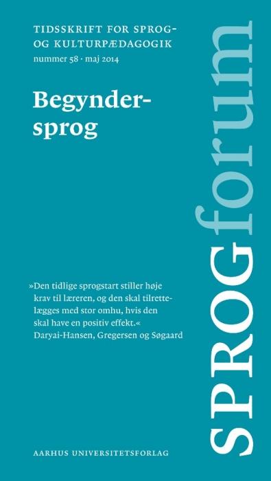 Image of   Begyndersprog (E-bog)