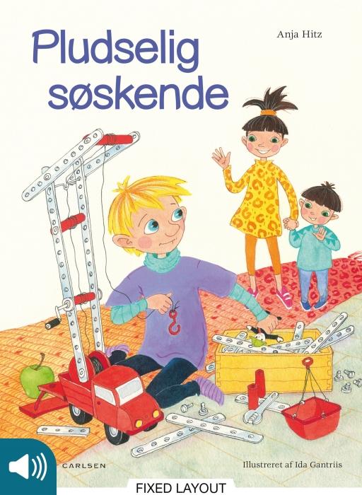 Image of Pludselig søskende (E-bog)