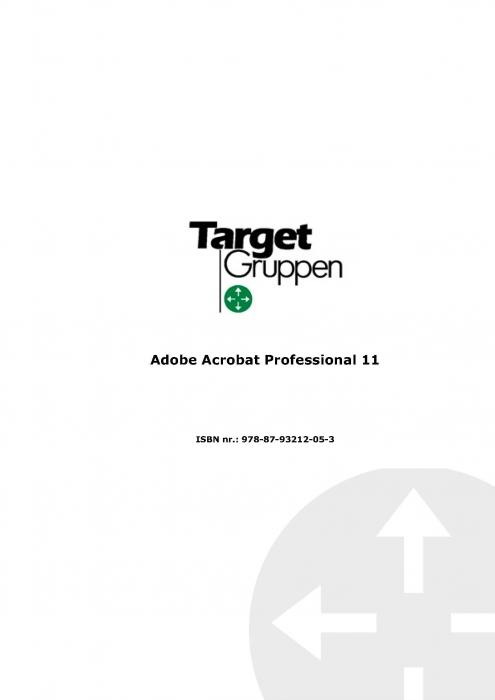 Image of   Adobe Acrobat 11 (E-bog)