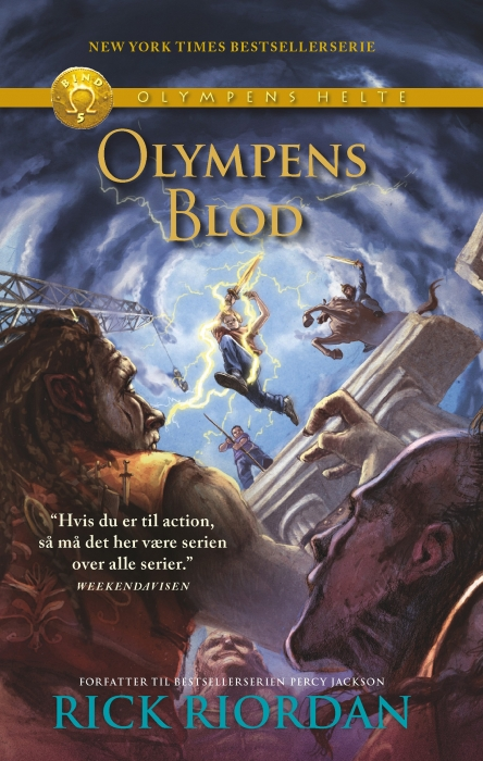 Olympens helte 5 - Olympens blod (E-bog)
