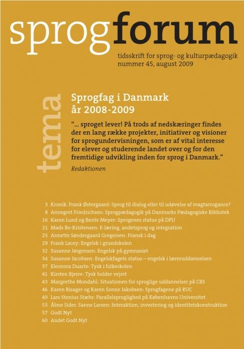 Sprogfag i Danmark (E-bog)