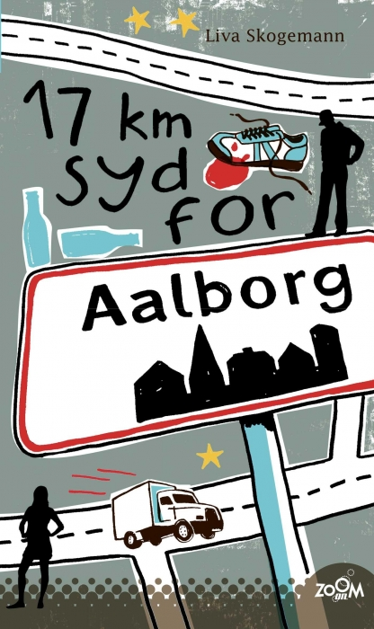 Image of   17 km syd for Aalborg (E-bog)