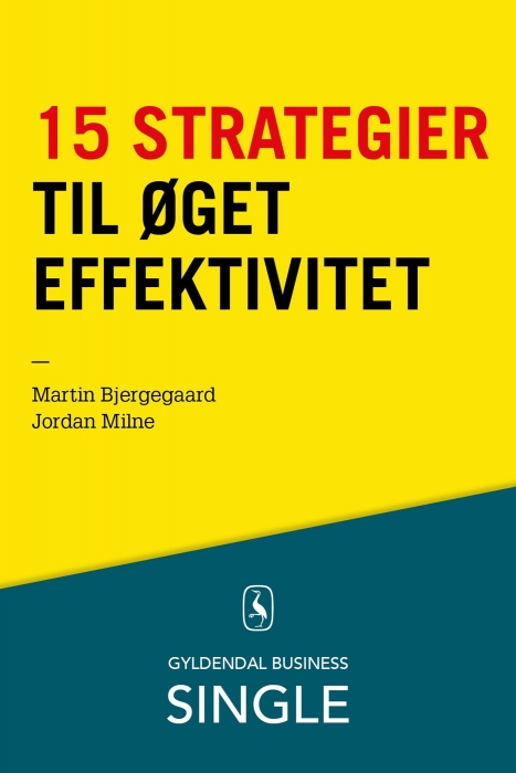 Image of   15 strategier til øget effektivitet (E-bog)