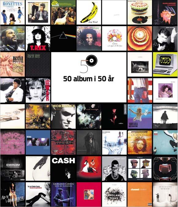 Image of   50 album i 50 år (E-bog)
