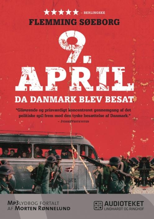 9. april - da Danmark blev besat (Lydbog)