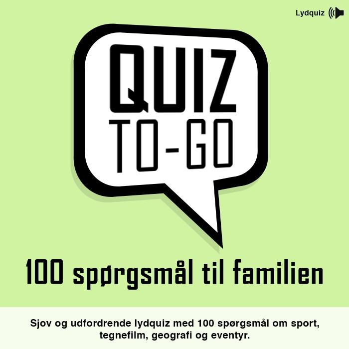 Image of Lydquiz: 100 spørgsmål til familien (Lydbog)