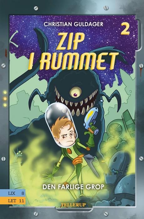 Zip i rummet #2: Den farlige Grop (E-bog)