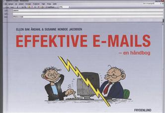Image of   Effektive e-mails (Bog)