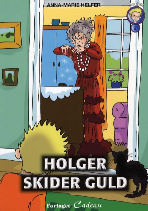 Image of Holger skider guld (Bog)
