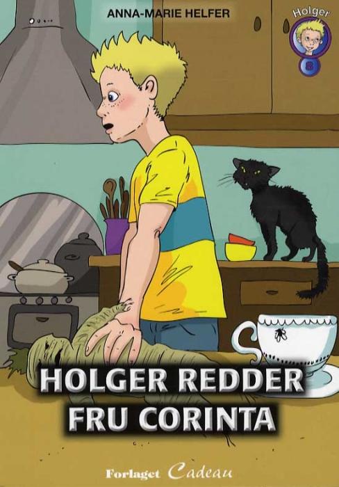 Image of Holger redder fru Corinta (Bog)