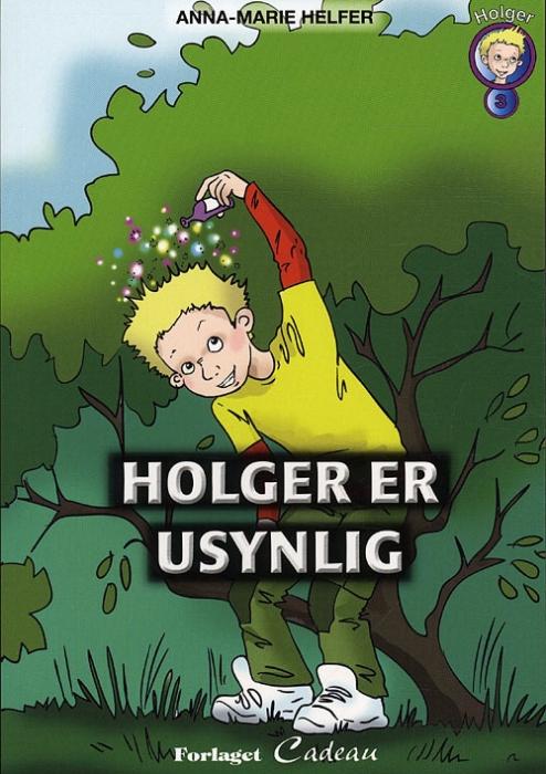 Image of Holger er usynlig (Bog)