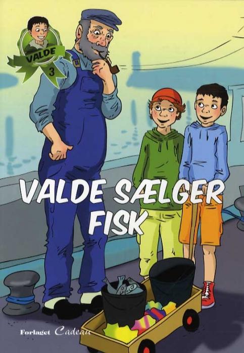 Image of Valde sælger fisk (Bog)